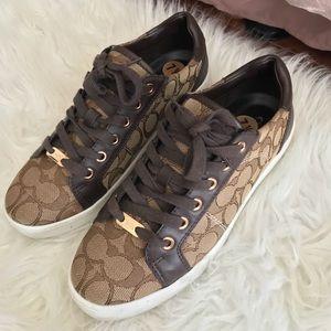 COACH Platform Sneakers
